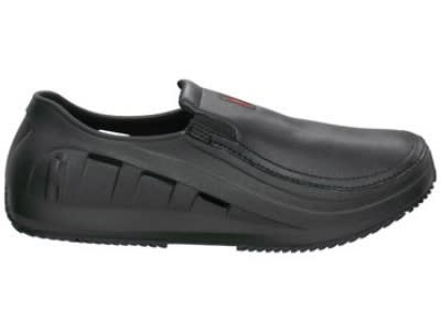 Mozo 3812 Slip Resistant Men's Sharkz Shoes w/ Hooded Vents, Black, Size 9