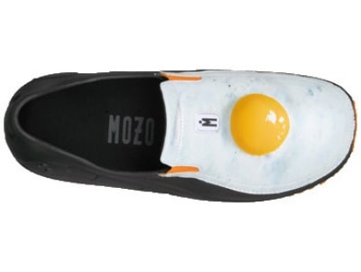 Mozo 3814 - 12 Sharkz Egg Men's Uniframe Chef Shoes w/ Gel Insole, Size 12