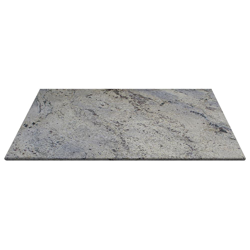 "Art Marble G208-24X30 24"" x 30"" Granite Table Top - Indoor/Outdoor, Kashmir White"