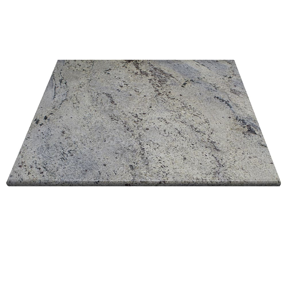 "Art Marble G208-30X30 30"" x 30"" Square Granite Table Top - Indoor/Outdoor, Kashmir White"