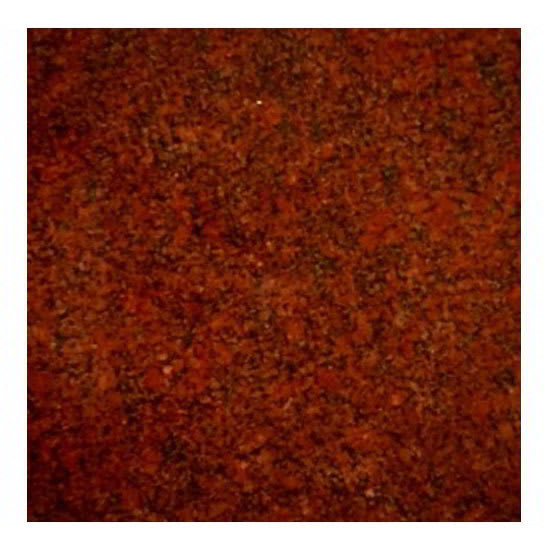 "Art Marble G210-36X36 36"" x 36"" Square Granite Table Top - Indoor/Outdoor, Ruby Red"