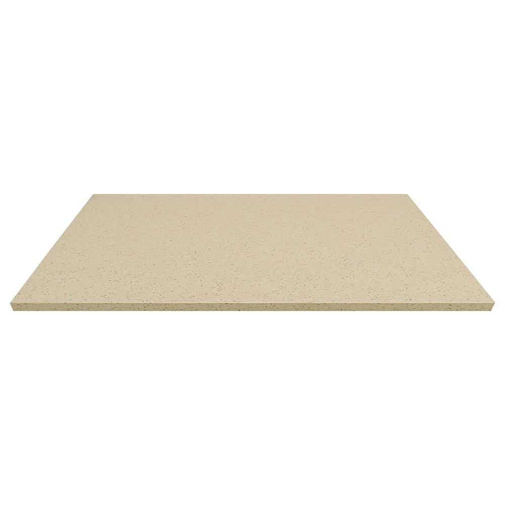 """Art Marble Q407-30X42 30"""" x 42"""" Quartz Table Top - Indoor/Outdoor, Cambrian Gold"""
