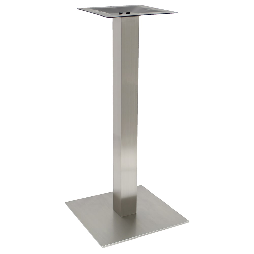 "Art Marble SS05-17H 40.75"" Bar Height Table Base - Indoor/Outdoor, Stainless"