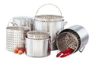 Big Johns Grills & Rotisseries 20 QT. POT 20-qt Aluminum Stock Pot