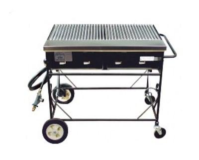 Big Johns Grills & Rotisseries A2CC-LPSS 4-Burner Gas Grill w/ Stainless Steel Grates