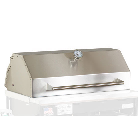 Big Johns Grills & Rotisseries A2HOOD Roll-Top Hood For A2P Grill