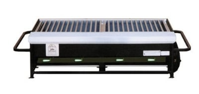 Big Johns Grills & Rotisseries A2P-LPSS 4-Burner Portable Gas Grill w/ Stainless Steel Grates
