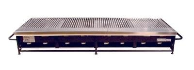 Big Johns Grills & Rotisseries A4P-LPCI 8-Burner Portable Gas Grill w/ Cast Iron Grates