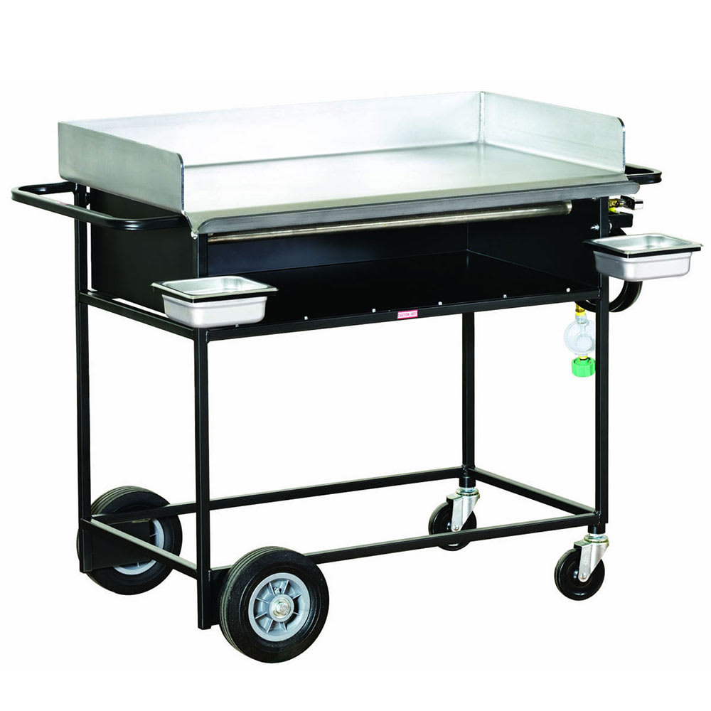"""Big Johns Grills & Rotisseries PG-36S 20 x 36"""" Griddle w/ Stand"""