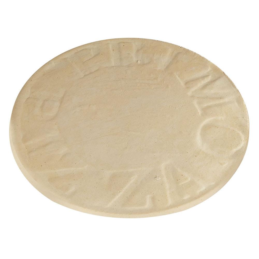 "Primo PRM348 16"" Natural Finish Pizza Baking Stone"