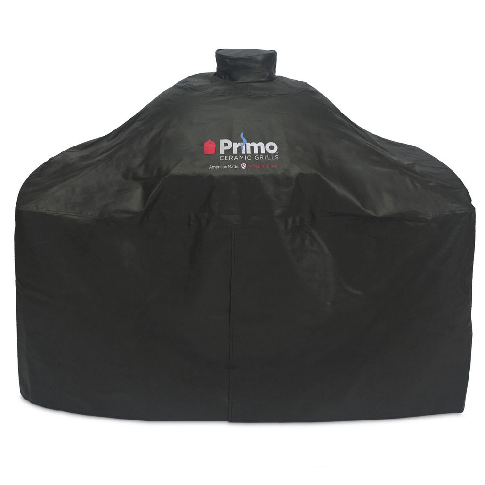 Primo PRM414 Grill Cover For Oval XL In Compact Table Or Cart & Oval Junior In Table