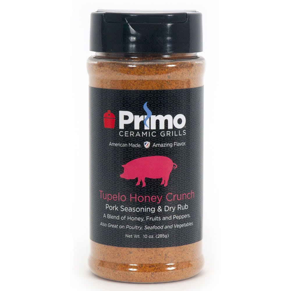 Primo PRM509 11-oz Tupelo Honey Crunch Pork Seasoning & Dry Rub