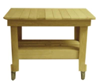 "Primo PRM607 Cypress Prep Table, 39 x 27 x 32"""