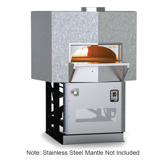 Wood Stone MTADAMS5 Stone Hearth Oven - Cast-Ceramic/Steel