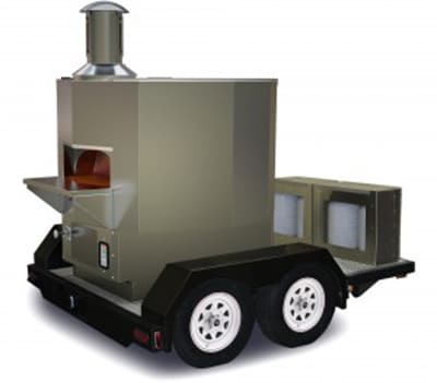 Wood Stone TRAILERMS-5 Stone Hearth Deck Oven