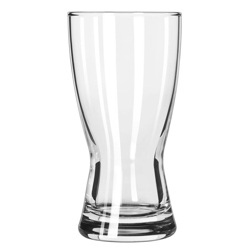 Libbey 1178HT 10-oz Hourglass Design Pilsner Glass - Safedge Rim