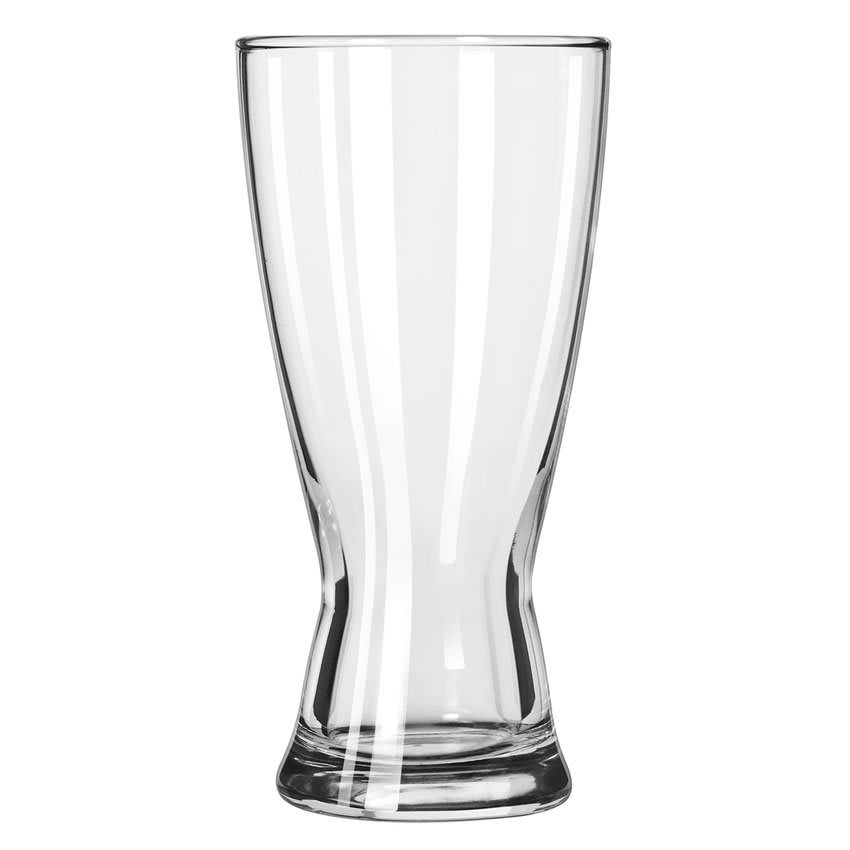 Libbey 1183HT 15-oz Hourglass Design Pilsner Glass - Safedge Rim