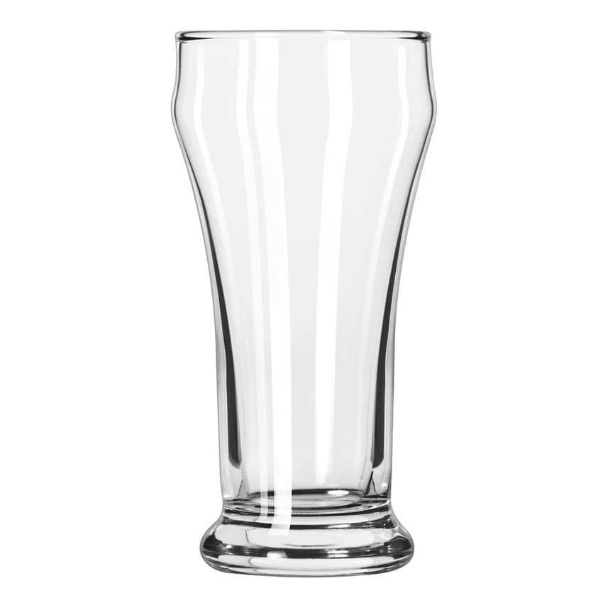 Libbey 12 8 oz Heavy Base Bulge Top Pilsner Glass - Safedge Rim Guarantee