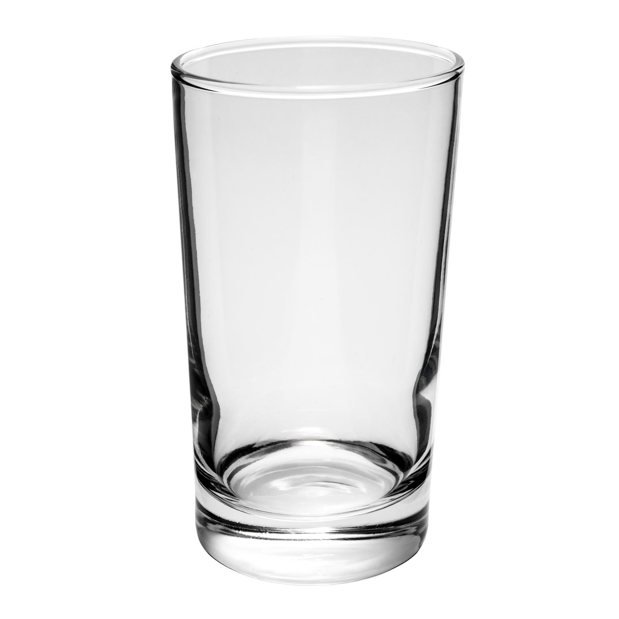 Libbey 123 7 oz Heavy Base Hi-Ball Glass - Safedge Rim Guarantee