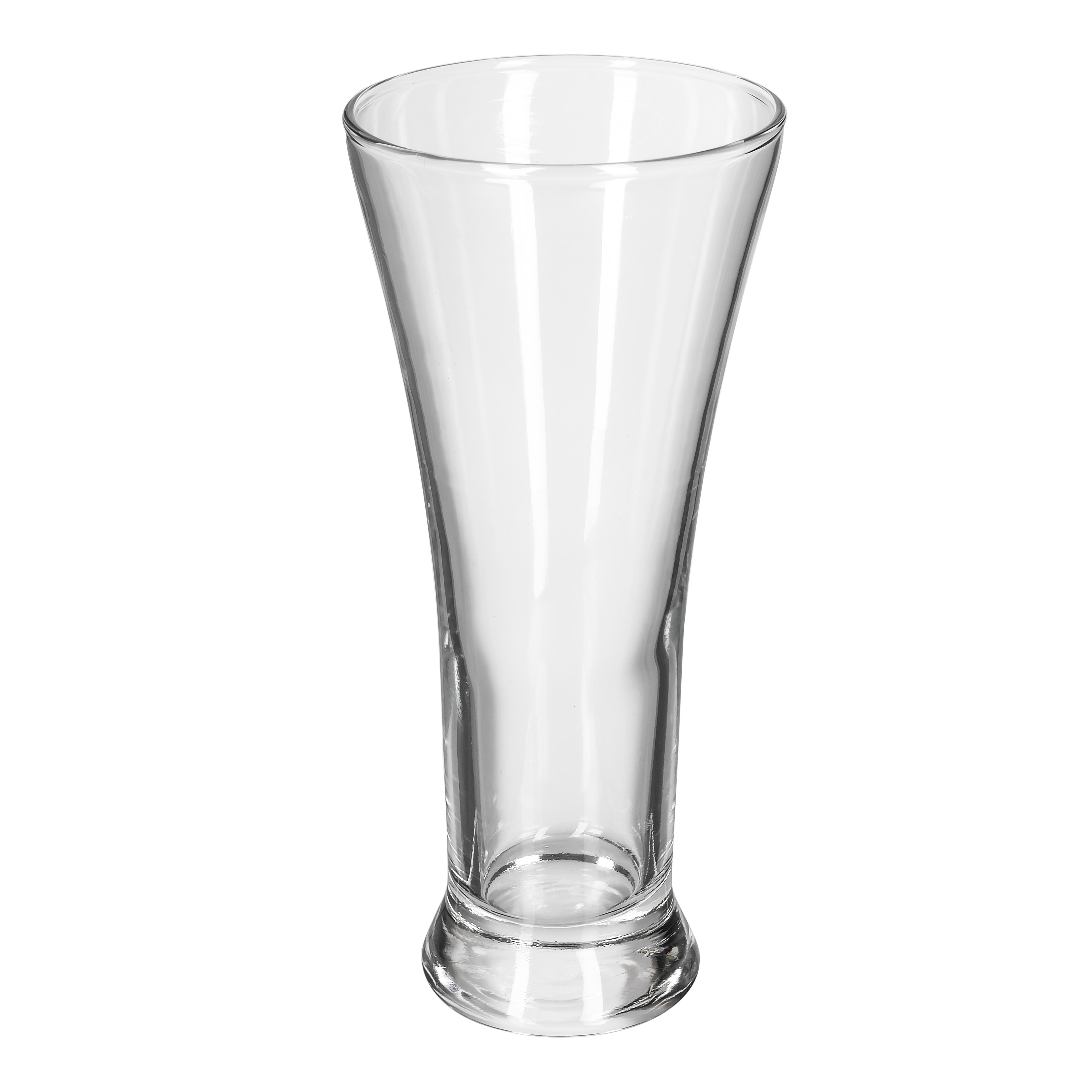 Libbey 1240HT 10 oz Flared Top Pilsner Glass - Safedge Rim