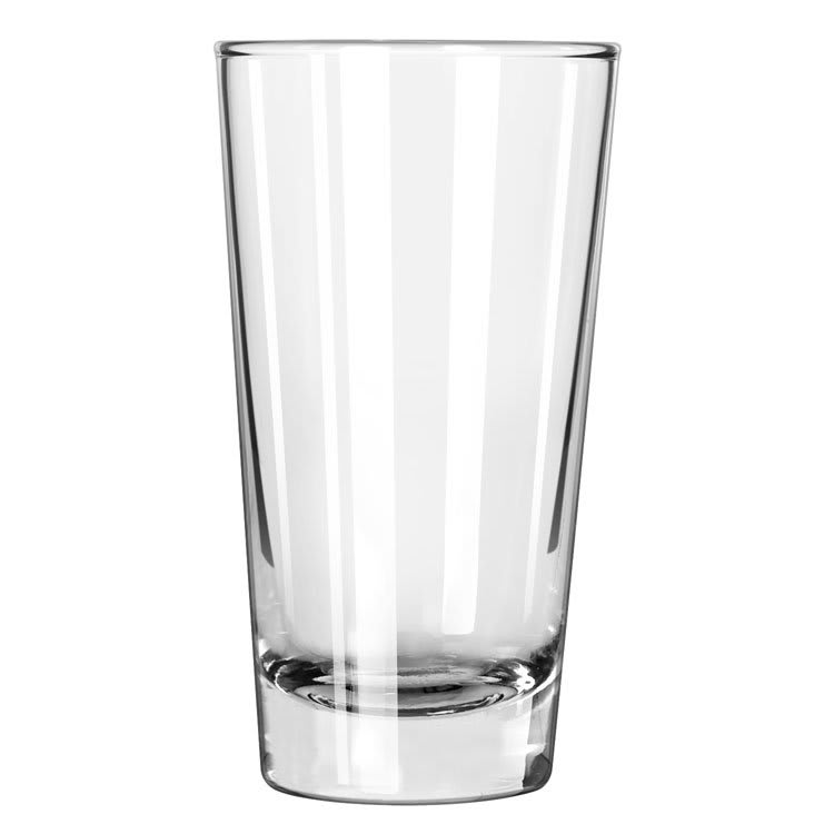 Libbey 131 6.5 oz Diplomat Heavy Base Hi-Ball Glass - Safedge Rim Guarantee