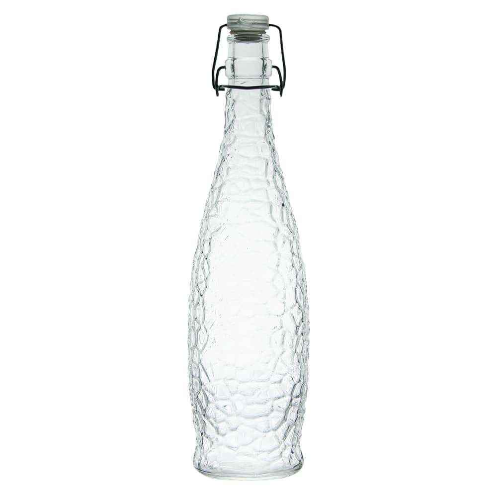 Libbey 13150120 33-7/8-oz Glacier Bottle with Clamp Top