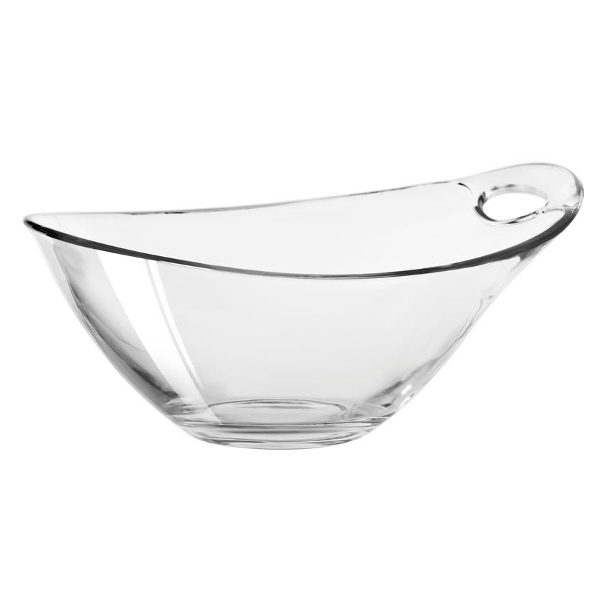 Libbey 14065520 29-1/2-oz Practica Bowl Oval - Handle, Clear