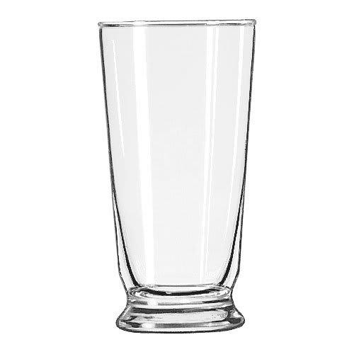 Libbey 1452HT 14 oz Footed Soda Glass - Safedge Rim Guarantee