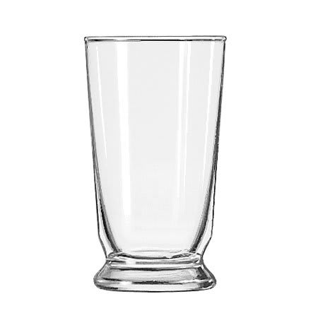 Libbey 1454HT 9 oz Footed Water Glass - Safedge Rim Guarantee