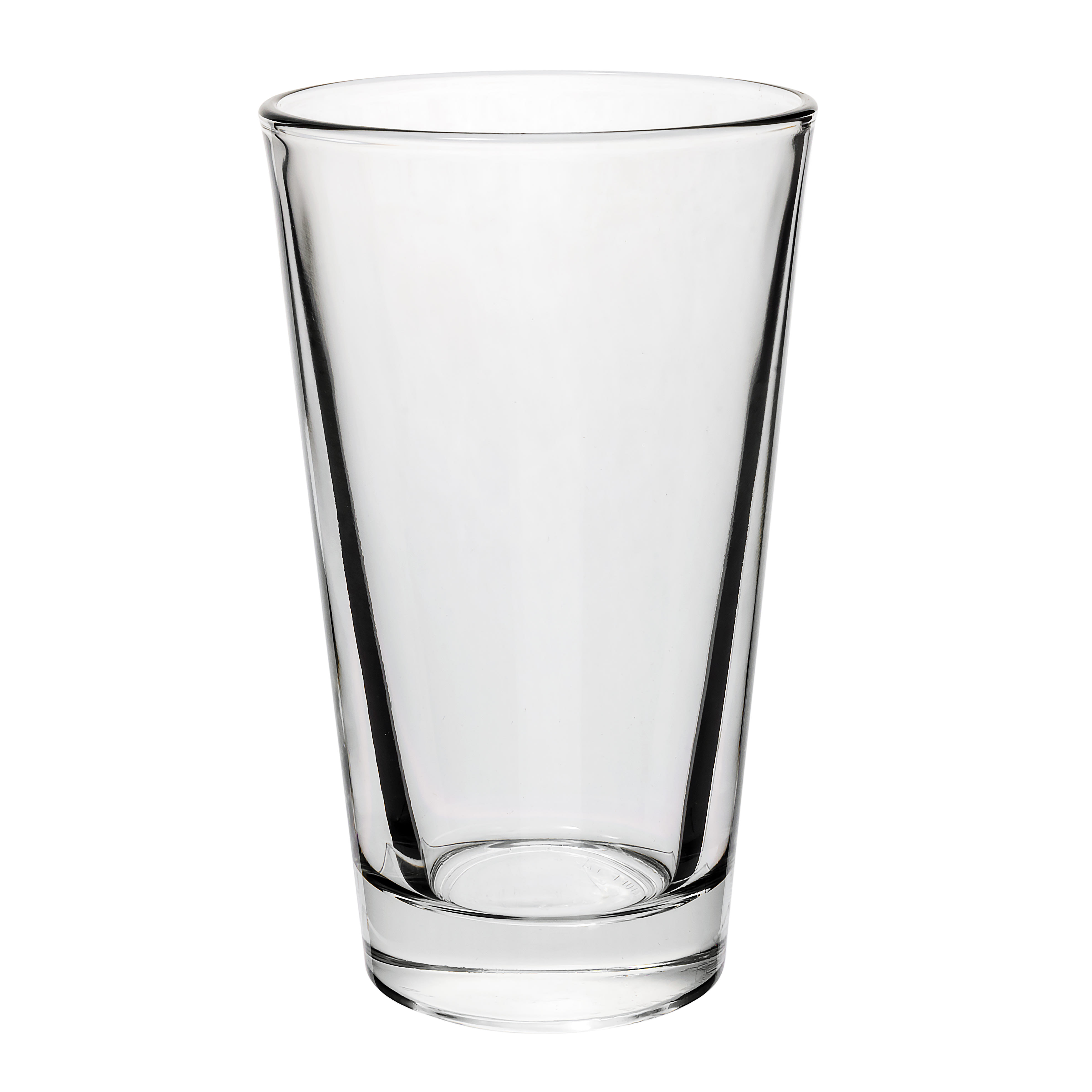 Libbey 15141 14 oz Pint Glass / Cooler Mixing Glass - DuraTuff Treated