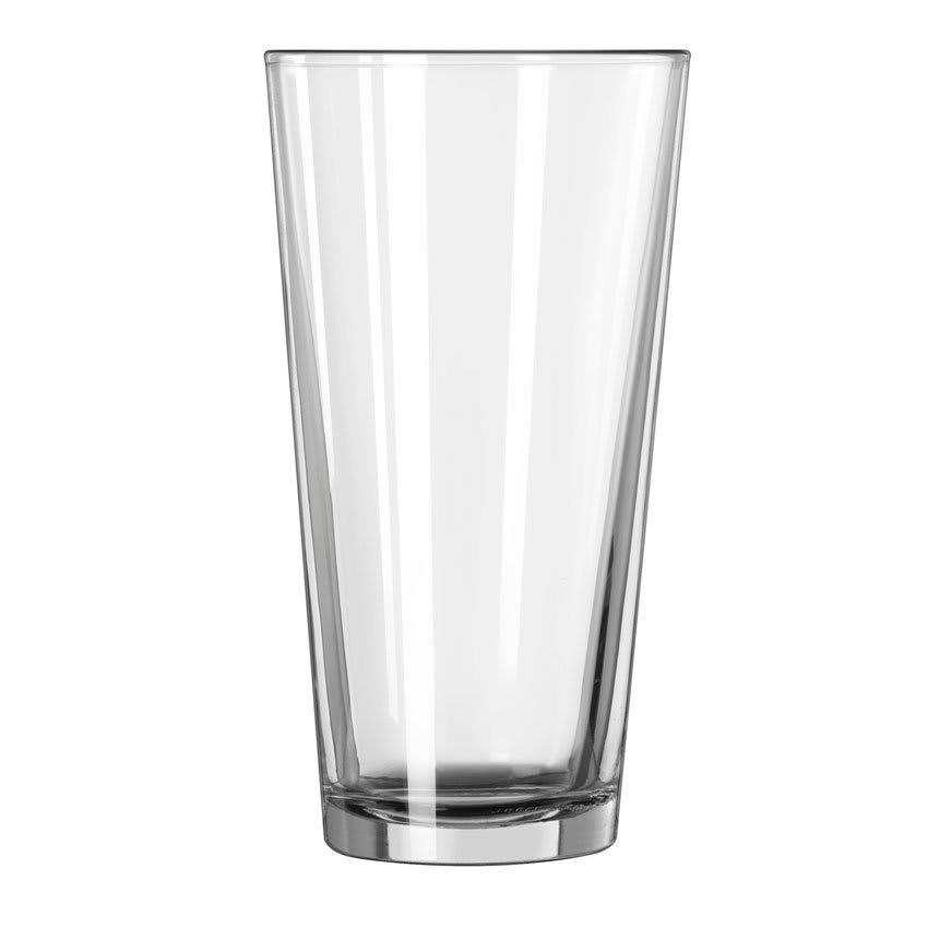 Libbey 15144 20 oz DuraTuff Restaurant Basics Mixing Glass