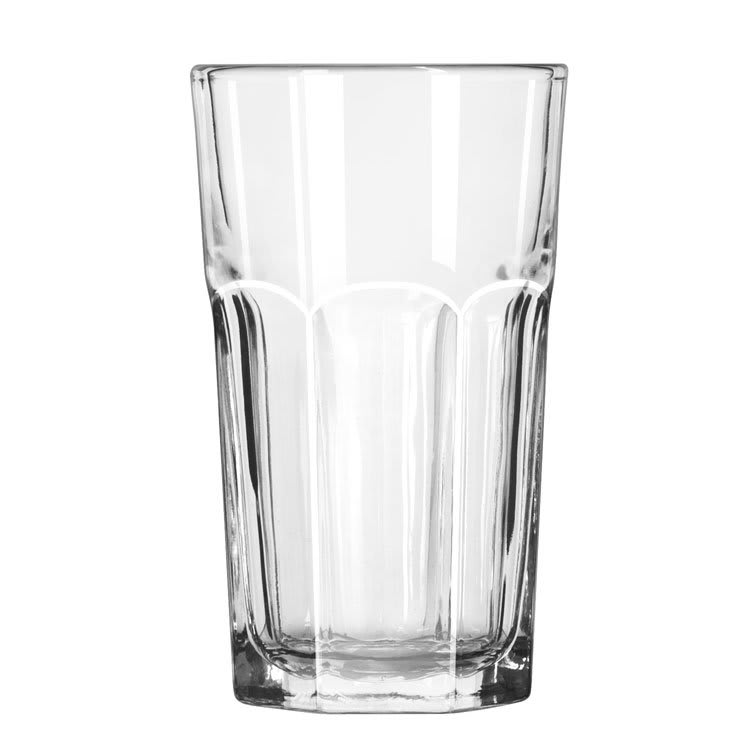 Libbey 15239 7-oz DuraTuff Gibraltar Hi-Ball Glass