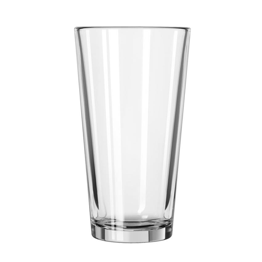 Libbey 15385 16 oz DuraTuff Restaurant Basics Tall Mixing Glass