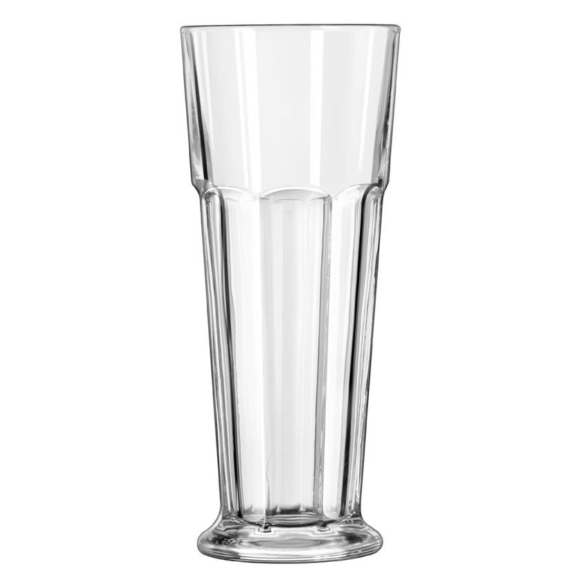 Libbey 15429 14 oz DuraTuff Gibraltar Footed Pilsner Glass