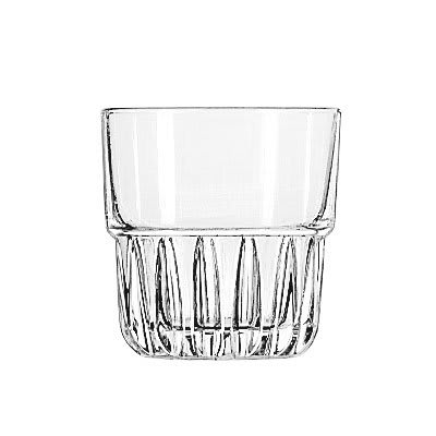 Libbey 15432 7 oz Rocks Glass - Everest, Stackable