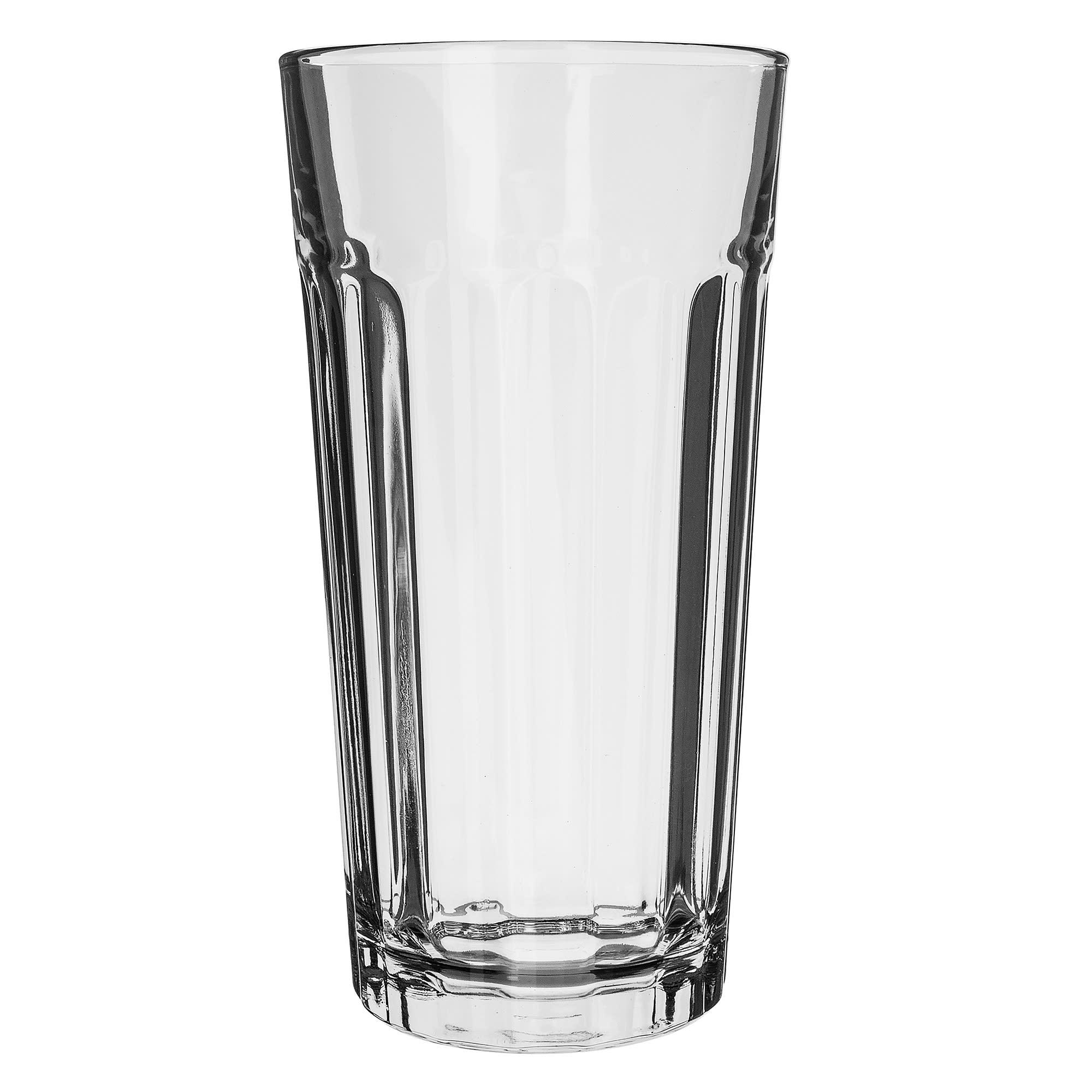 Libbey 15645 24-oz DuraTuff Paneled Glass Tumbler