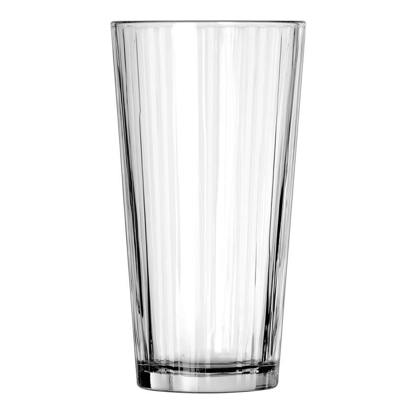 Libbey 15647 20 oz DuraTuff Line Design Casual Cooler Glass