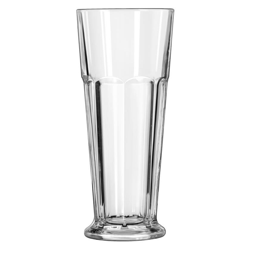 Libbey 15673 16.75 oz DuraTuff Gibraltar Footed Pilsner Glass