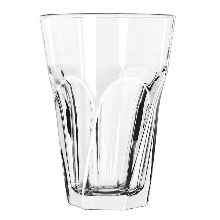Libbey 15754 14-oz Gibraltar Twist Beverage Glass