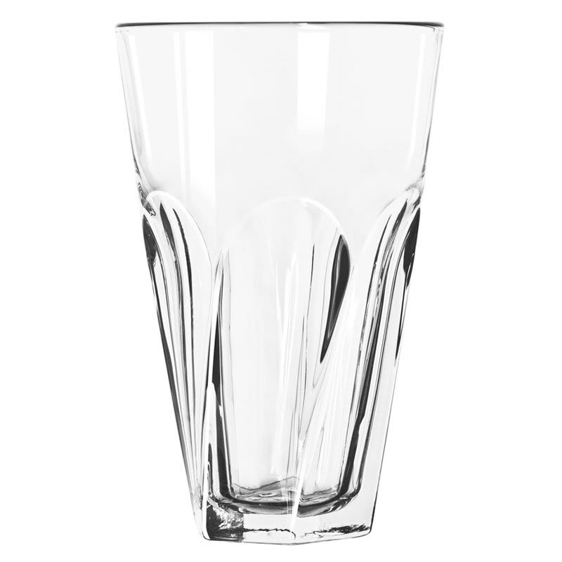 Libbey 15756 16-oz DuraTuff Gibraltar Twist Cooler Glass - Clear