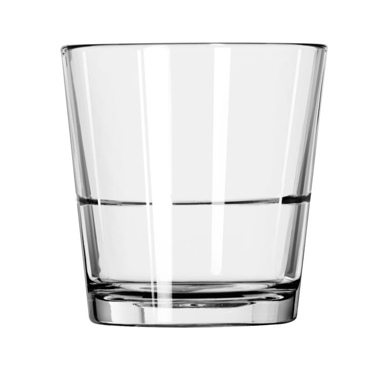 Libbey 15769 12-oz Double Old Fashioned Glass - Restaurant Basics, Stackable
