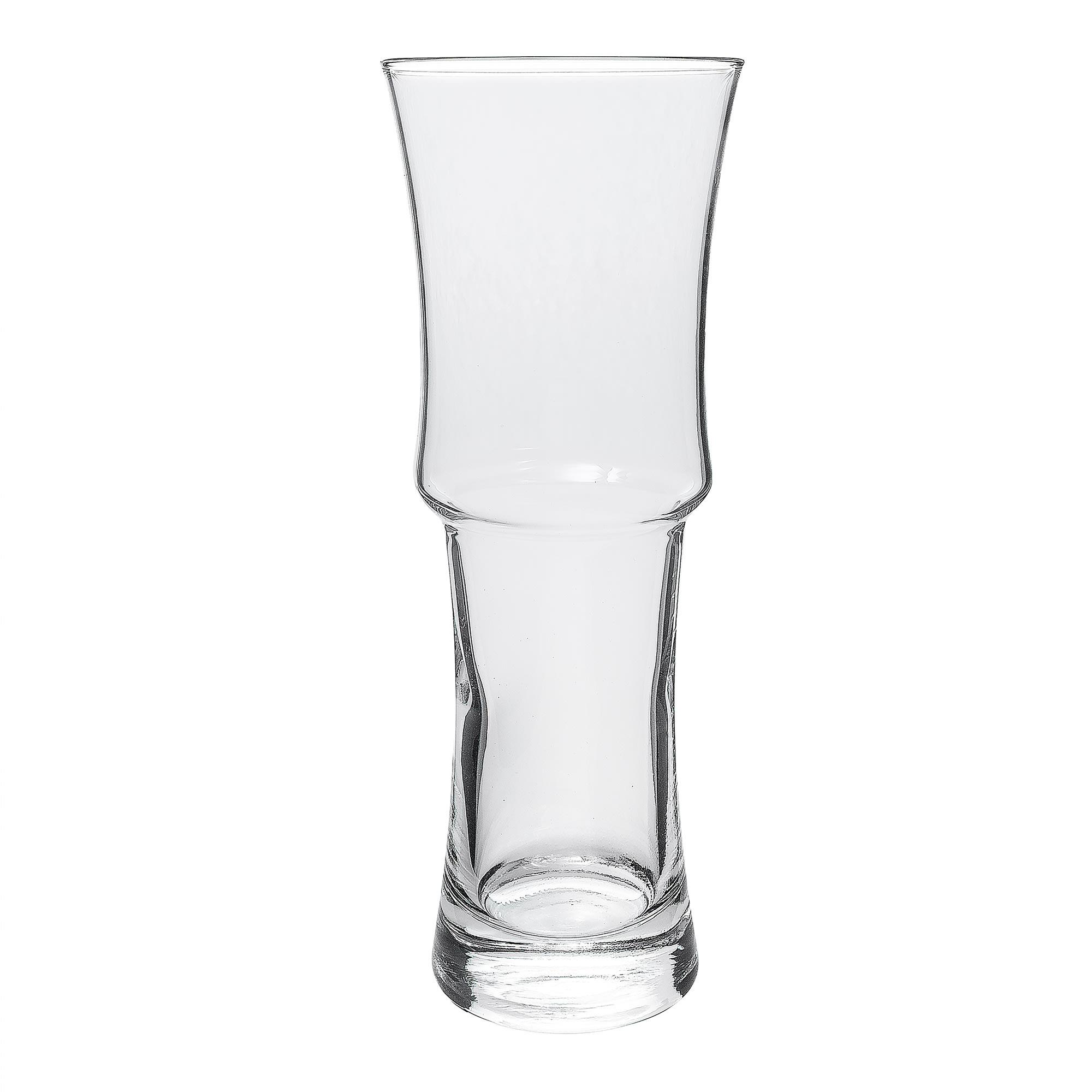 Libbey 1619 155 Oz Napoli Grande Footed Hurricane Glass Safedge Rim