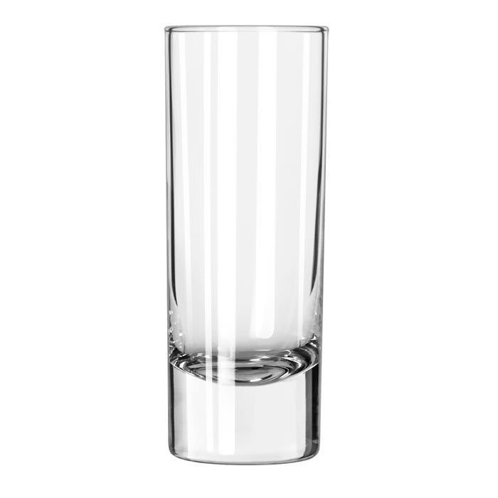 Libbey 1650 2.5 oz Super Sham Cordial Shot Glass - Safedge Rim Guarantee