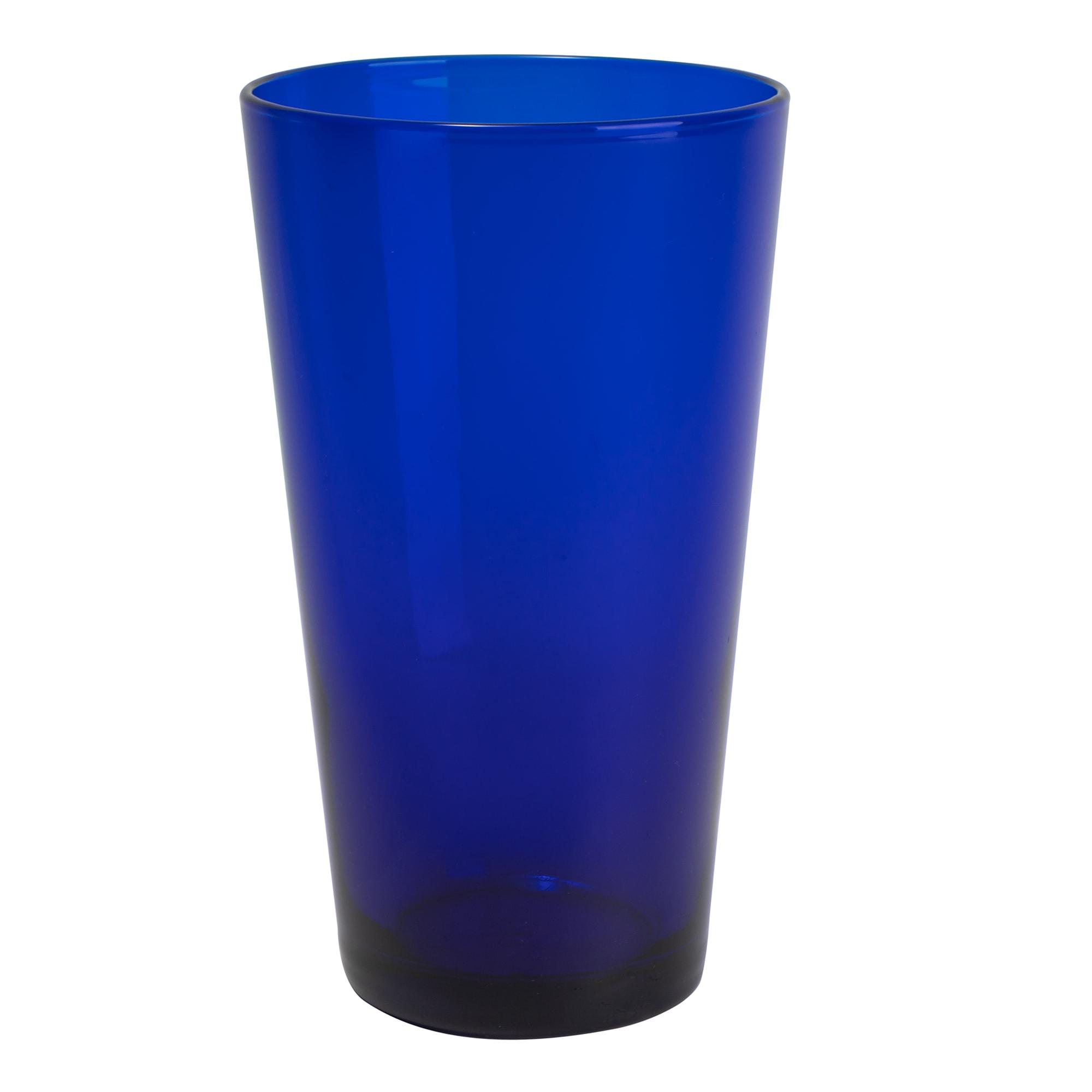 Libbey 171B 17.25 oz Flared Cobalt Cooler Glass