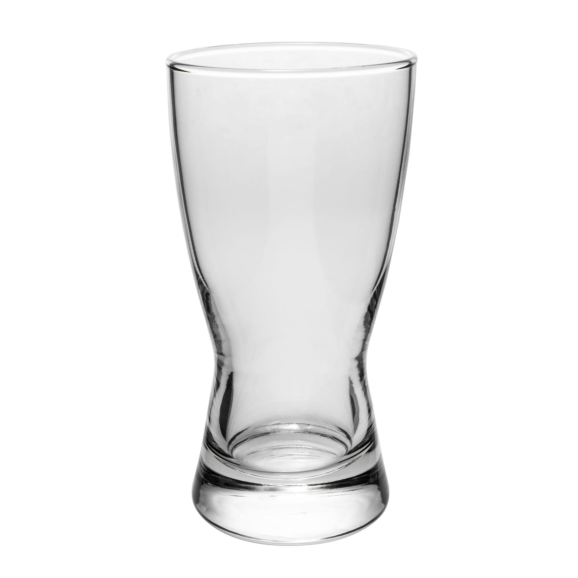 Libbey 176 9-oz Hourglass Design Pilsner Glass - Safedge Rim Guarantee