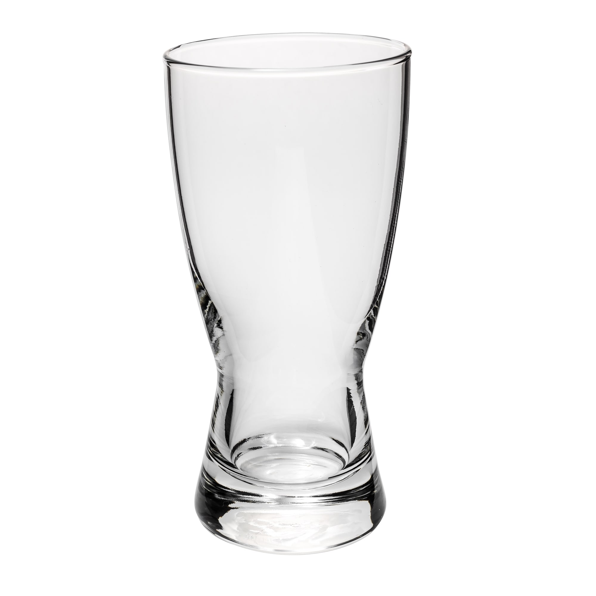 Libbey 178 10 oz Hourglass Design Pilsner Glass - Safedge Rim Guarantee