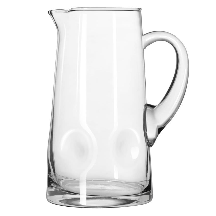 Libbey 1790907 80-oz Crisa Impressions Glass Pitcher