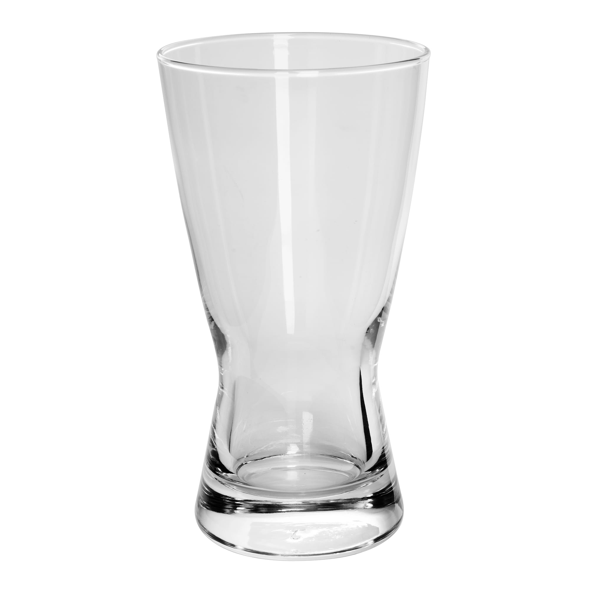 Libbey 181 12-oz Hourglass Design Pilsner Glass - Safedge Rim Guarantee