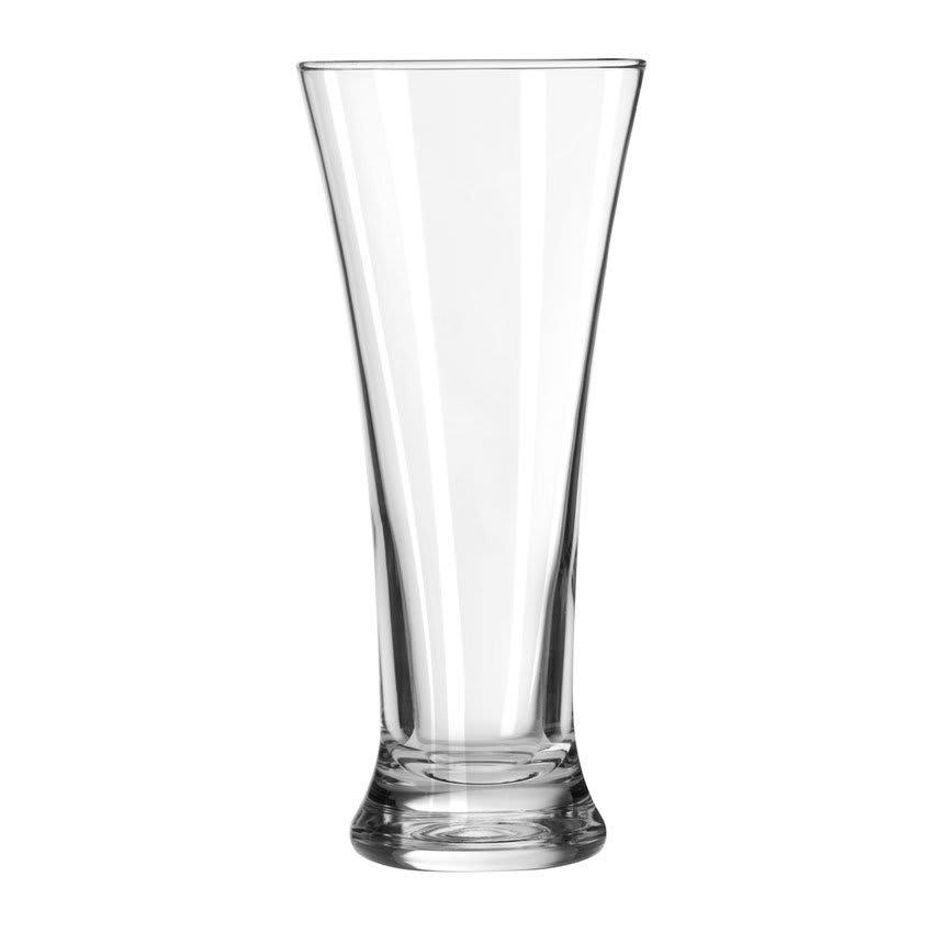 Libbey 19 11.5 oz Hourglass Design Pilsner Glass - Safedge Rim Guarantee