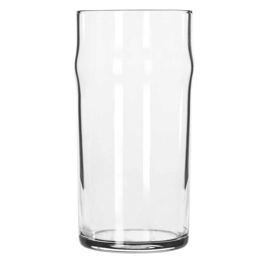 Libbey 1907HT 12.75 oz NO-NIK Beer Glass - Safedge Rim Guarantee